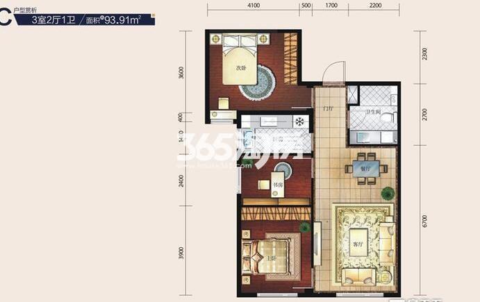三室二厅93