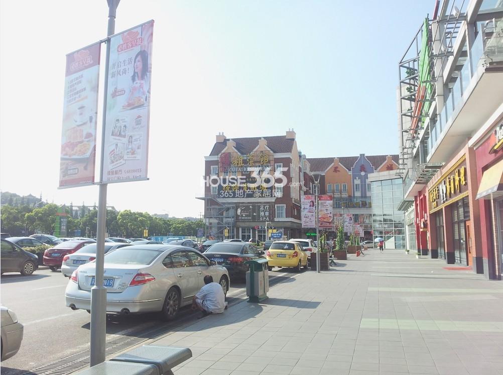 绿宝广场鸟瞰图_苏州绿宝广场步行街