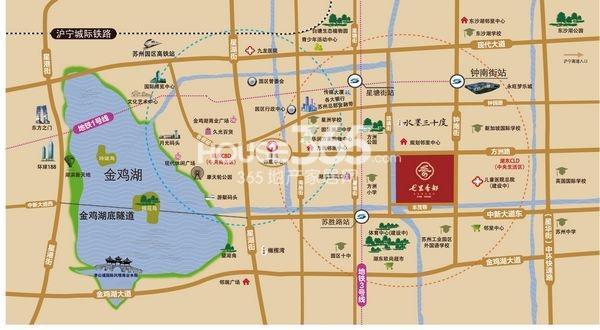 七里香都区位图 2013.11.22