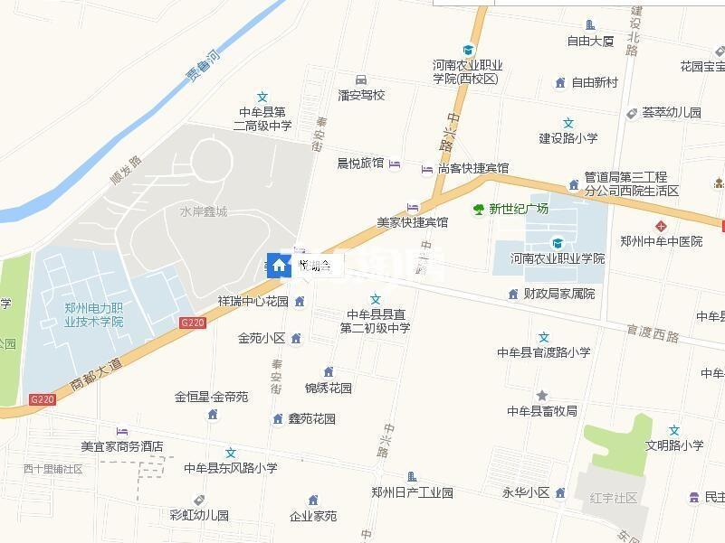 悦湖会交通图