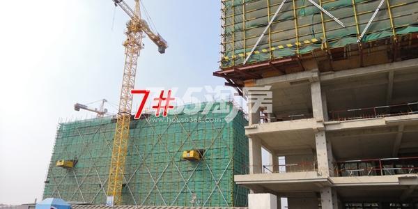 中海熙岸华府高层7#楼建至约6层(3.16)