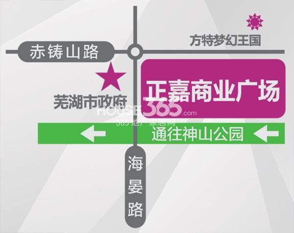 正嘉香港城交通图