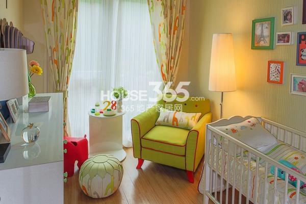 万科VC小镇86平米2+1房样板间 儿童房