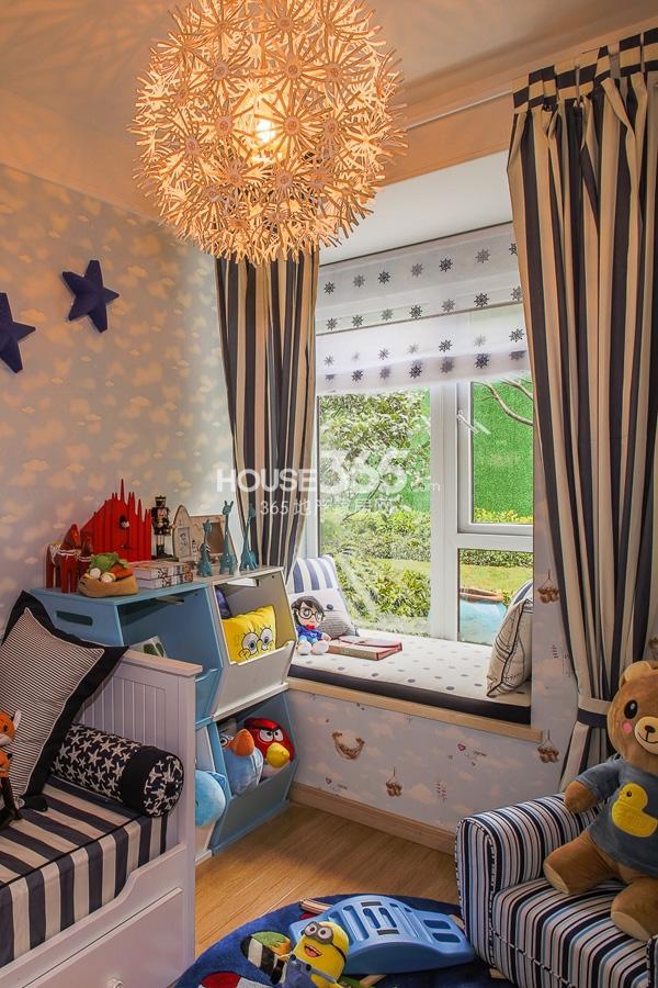 万科VC小镇93平米3+1房样板间 儿童房