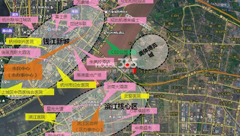 浙大网新双城国际交通图