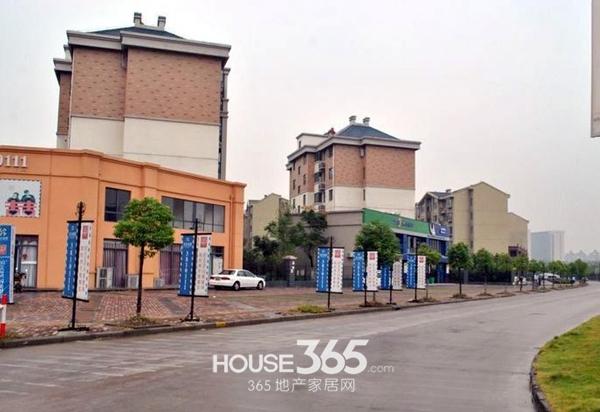 融科城周边道路(2014.1.24)