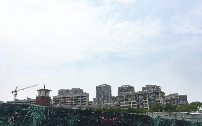 银亿东城别墅远景实景图(9.26)