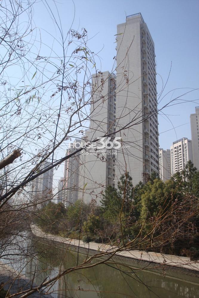 2014.1.21中海寰宇天下项目部分楼幢合影