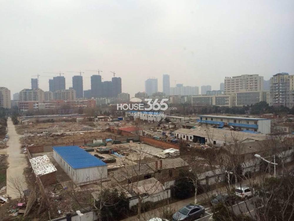 上海建工河西地块实景图(2.24)