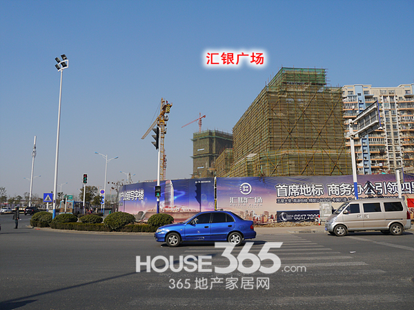 万科森林公园周边商业体(2014.2.8)