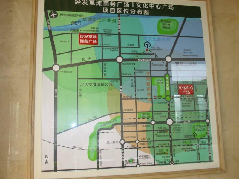 白桦林明天项目区位分布实景(2013.2.27)