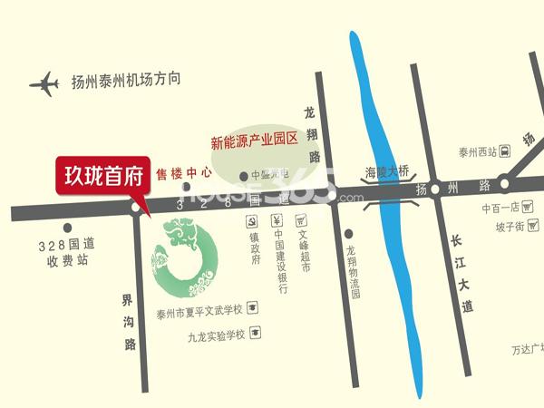 玖珑首府交通图