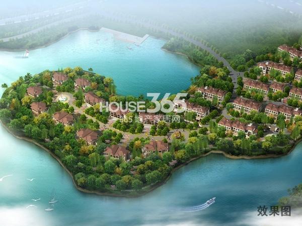 世茂香槟湖效果图