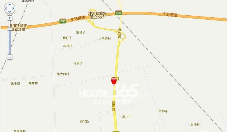 中华玉博园交通图