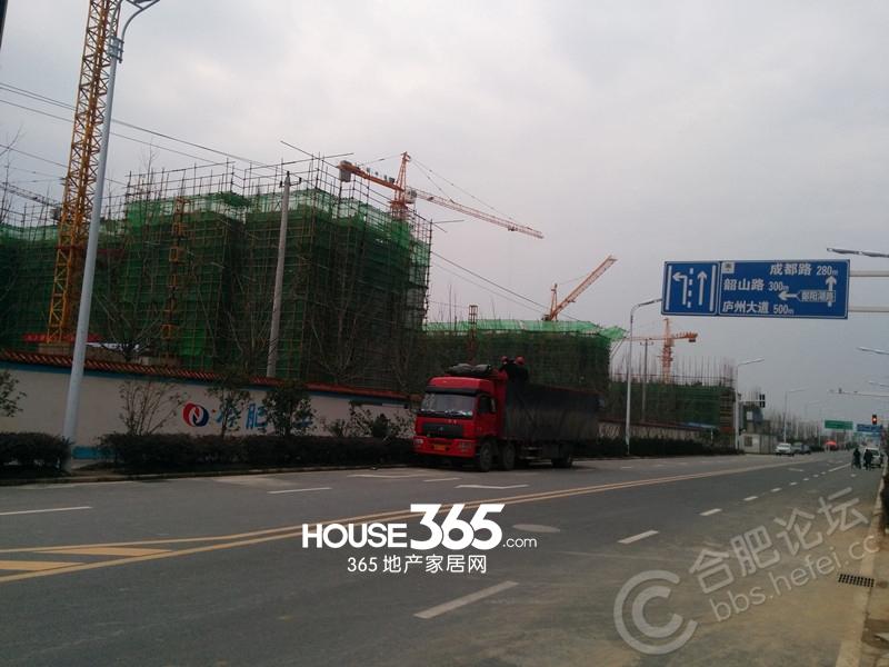 淮矿东方蓝海3月工程进度(2014.03)