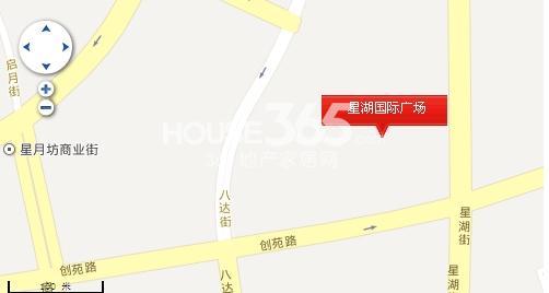 星湖国际广场交通图