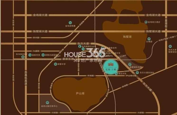 弘阳上湖交通图