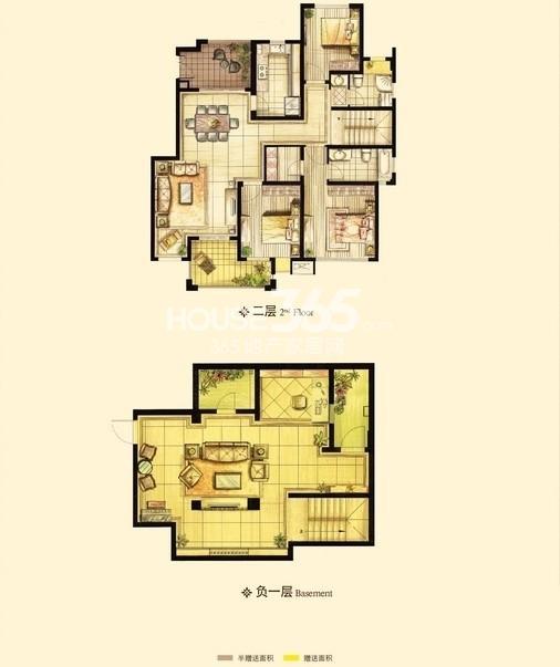 红鼎湾花园户型图