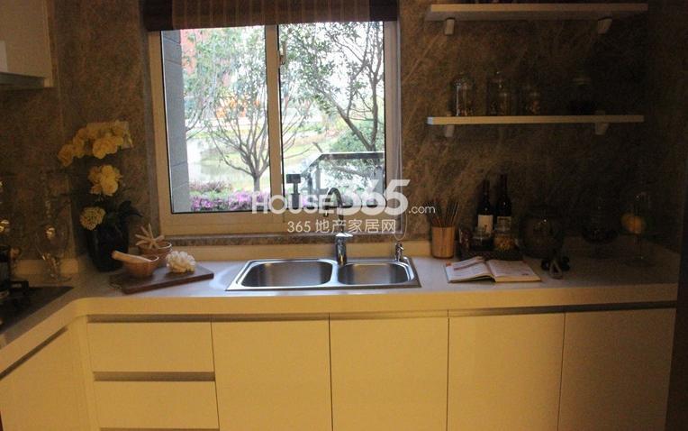 无锡万达文化旅游城95平方米样板间 厨房