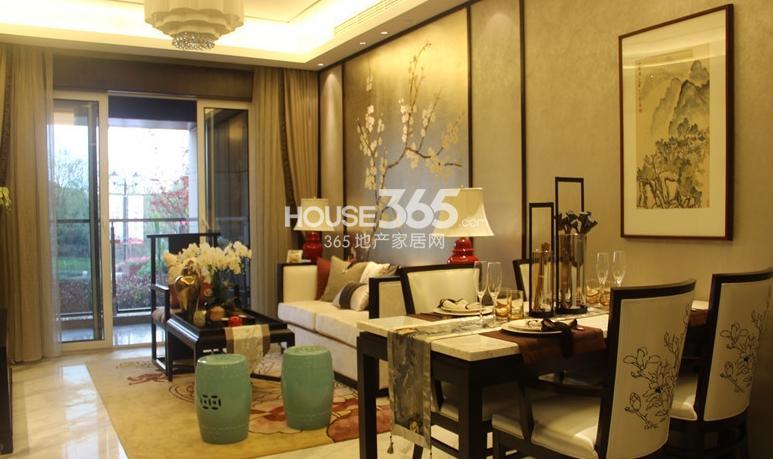 无锡万达文化旅游城95平方米样板间 客厅