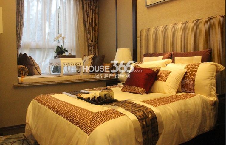 无锡万达文化旅游城95平方米样板间 卧室