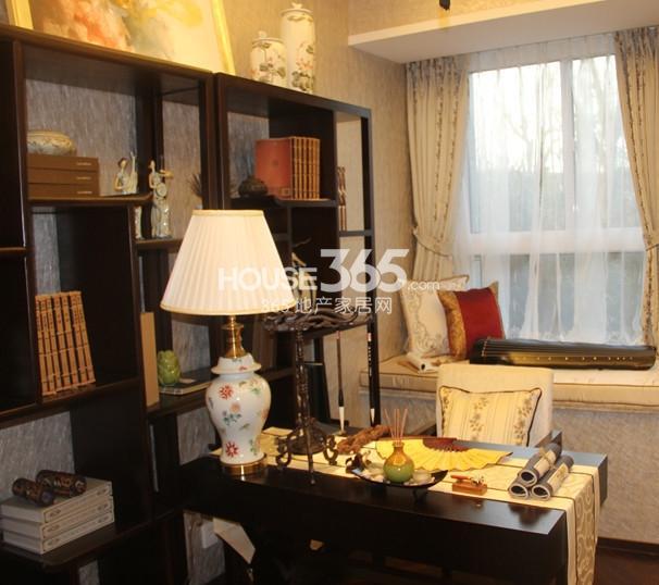 无锡万达文化旅游城95平方米样板间 书房