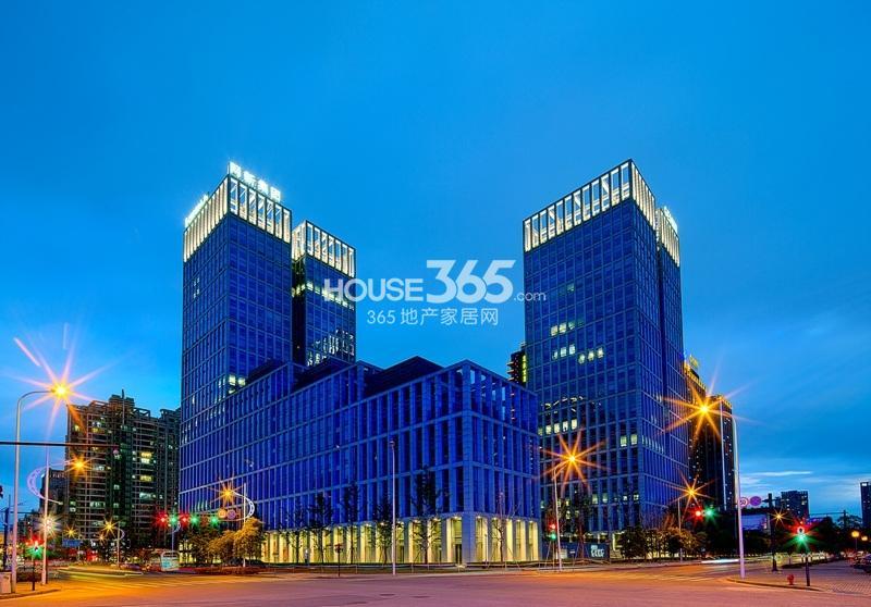 2014年5月浙大网新双城国际夜景