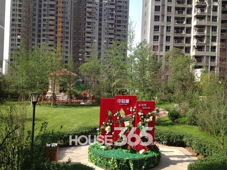 中海城一期社区园林绿化景观(2014.05.12)