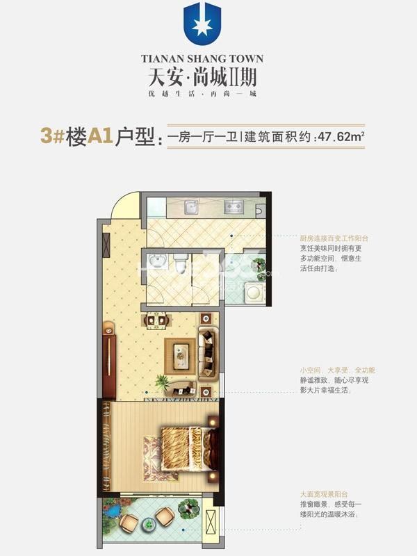 天安尚城二期户型图