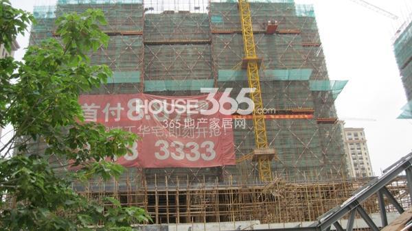长泰国际社区在建8#高层(2014.5)