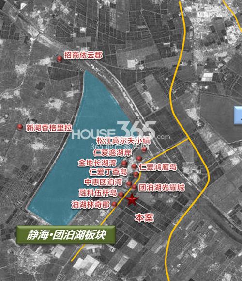 天津富力新城鸟瞰图
