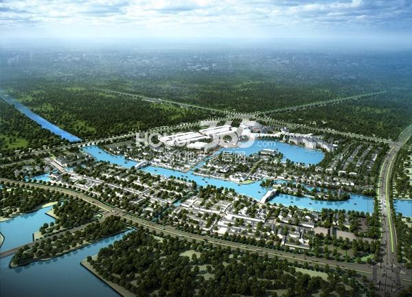 新华联梦想城整体鸟瞰图