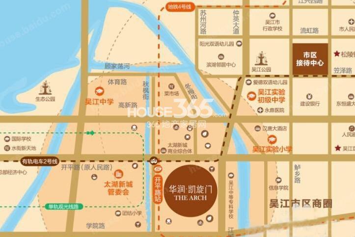 华润凯旋名邸交通图