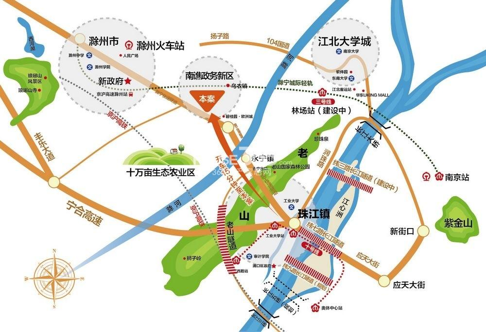 高速公园壹号交通图
