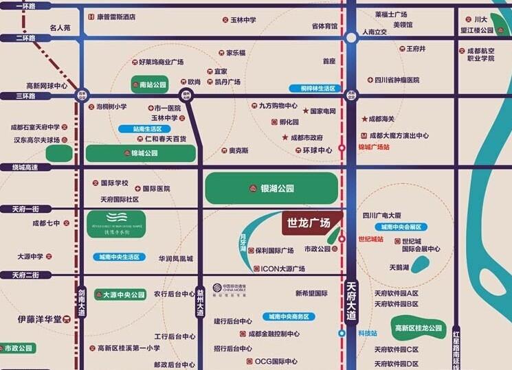 世龙公馆交通图
