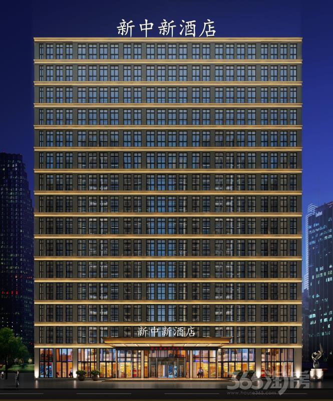 新中新大厦48平米2014年可注册公司精装