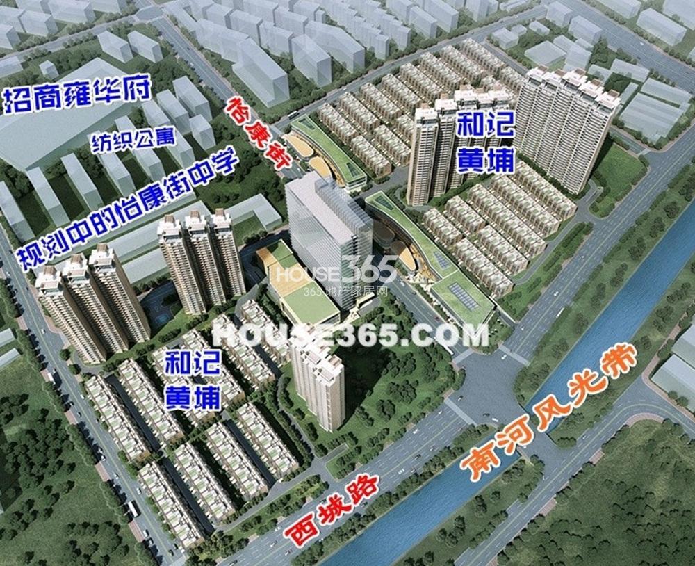 涟城汇交通图