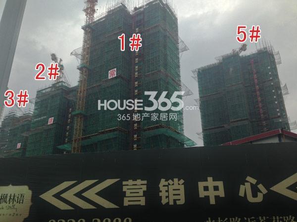 常州宝龙城市广场工程进度实景图(2014.8)