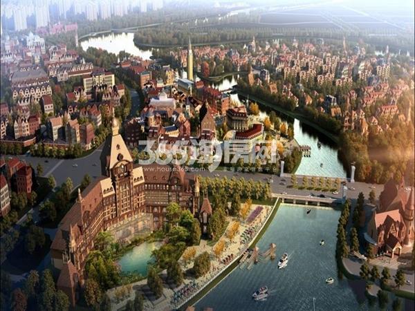 武汉绿地城效果图