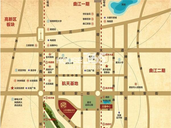 力邦国际城交通图