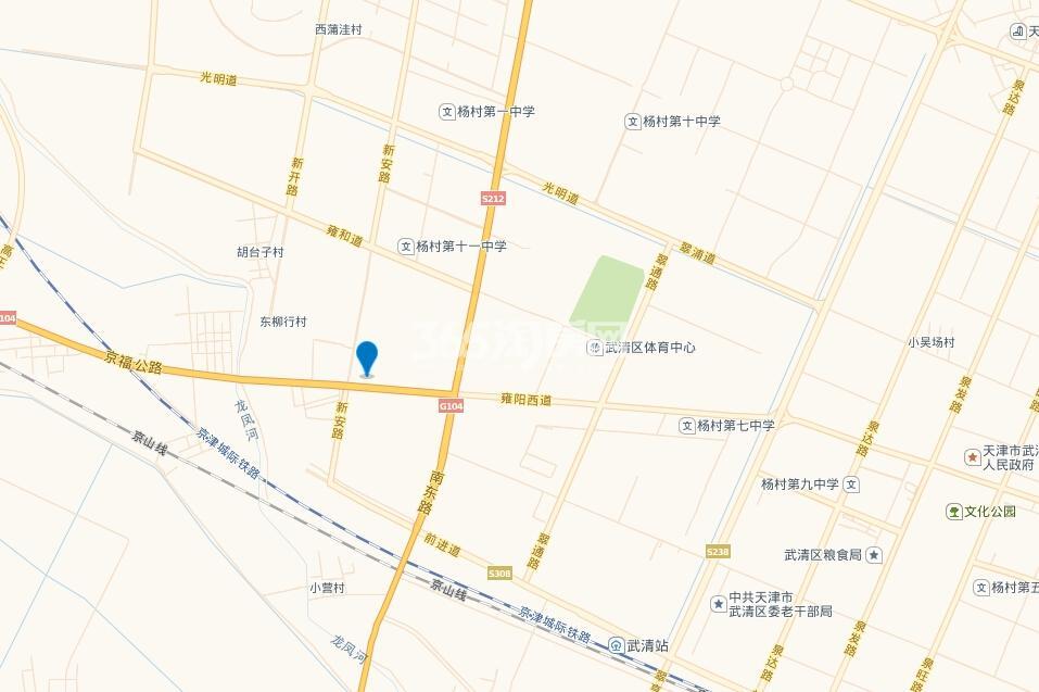 雍鑫红星华府交通图