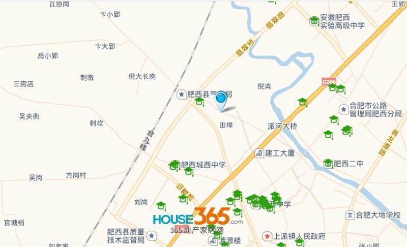 兴众广场交通图