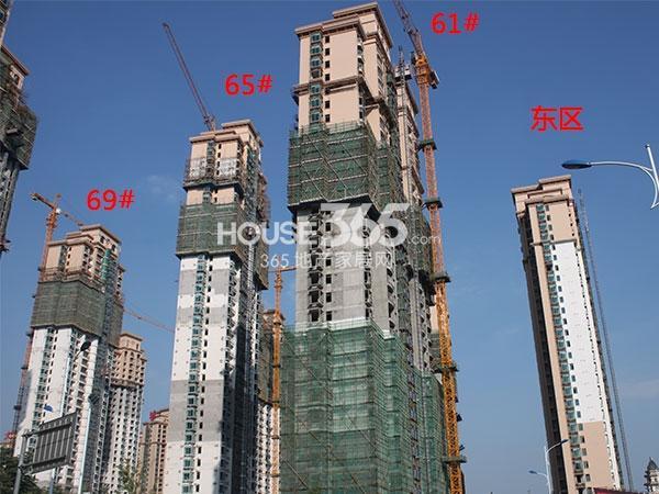 大名城东区61、65、69#工程实景图(2014.10)