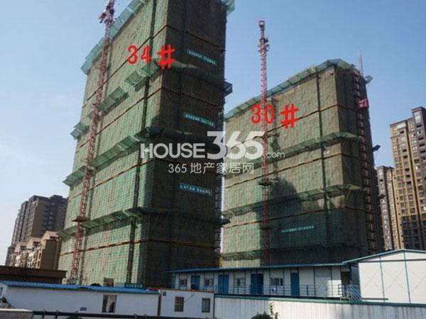 九洲花园缇香郡30、34#工程实景图(2014.10)