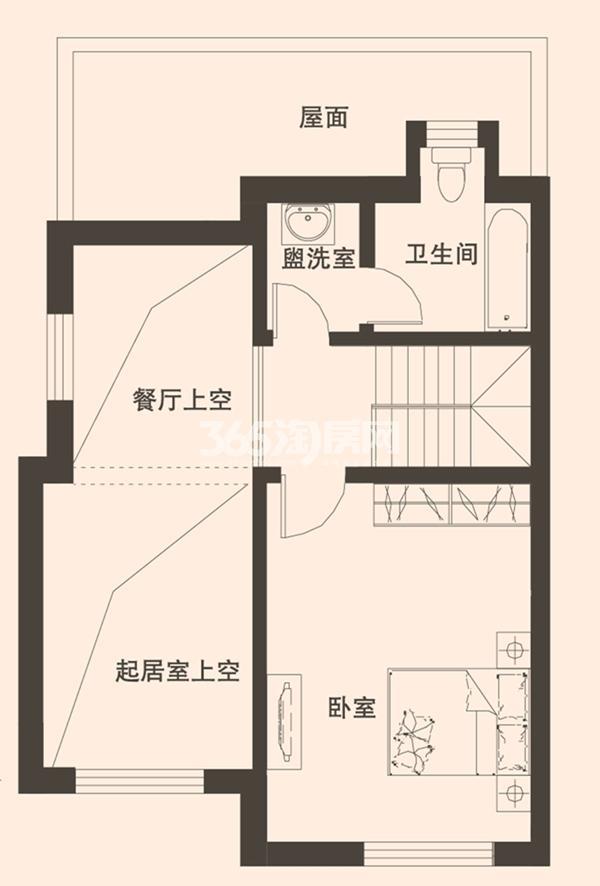 别墅A1户型189平米三层