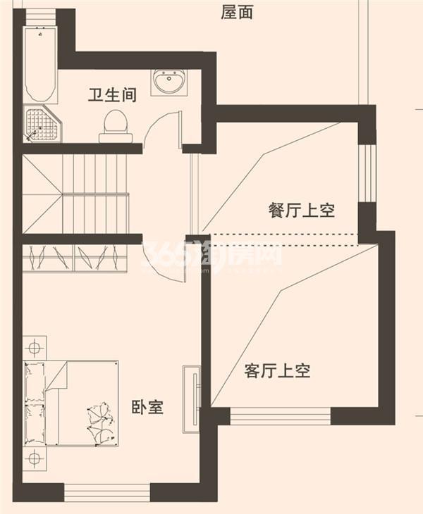 201平米别墅三层