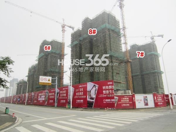 苏宁悦城二期工程实景图(2014.11 摄)