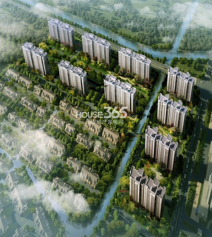 华丽家族太湖汇景鸟瞰图