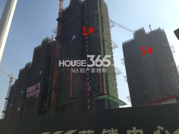 常州宝龙城市广场1#、5#工程进度(2014.11)