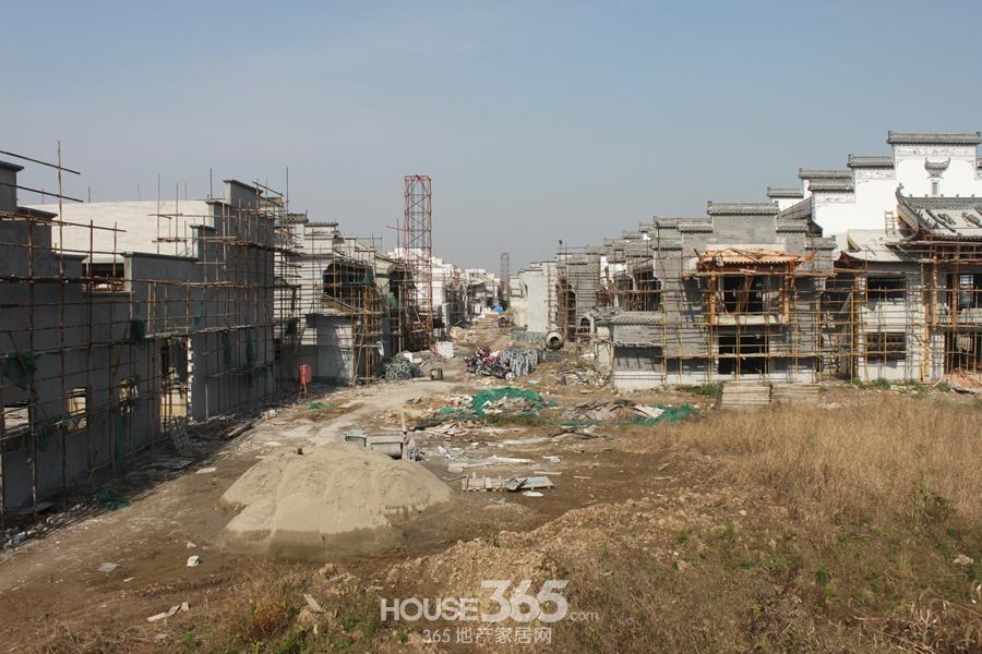 新华联梦想城老街工程进度 外立面呈现(2014.11摄)